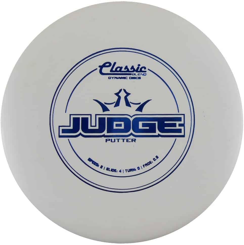 disku golfa disks Dynamic Discs Classic Line Blend Judge white