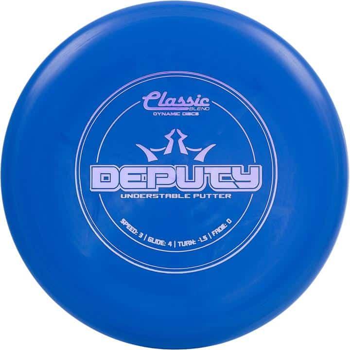 disku golfa disks Dynamic Discs Classic Line Blend Deputy Blue
