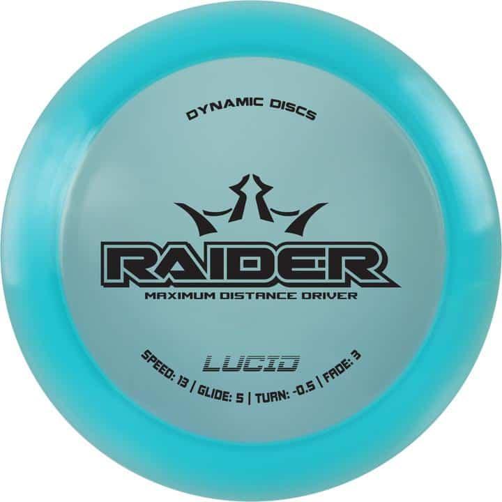 Disku golfa disks Dynamic Discs Lucid Line Raider turq