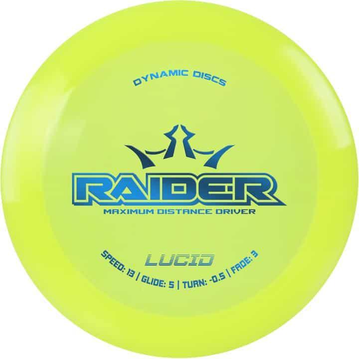Disku golfa disks Dynamic Discs Lucid Line Raider yellow