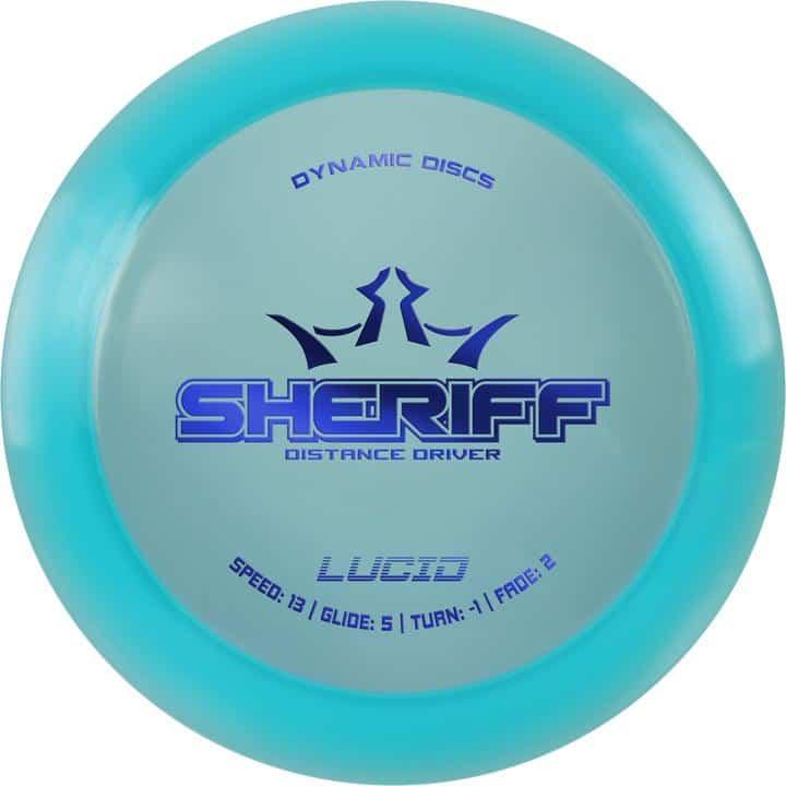 Disku golfa disks Dynamic Discs Lucid Line Sheriff blue