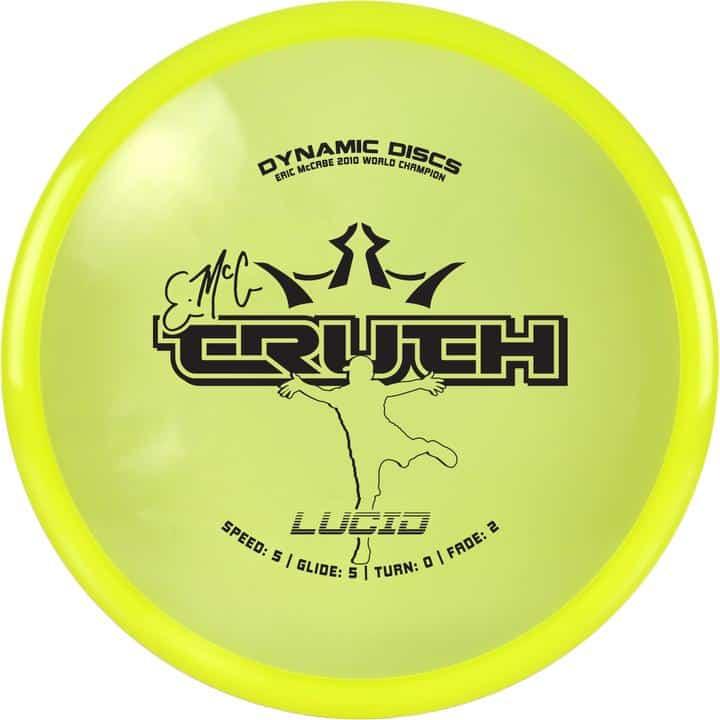 disku golfa disks Dynamic Discs Lucid Line Truth yellow