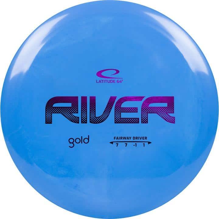 disku golfa disks Latitude 64 Gold Line River blue