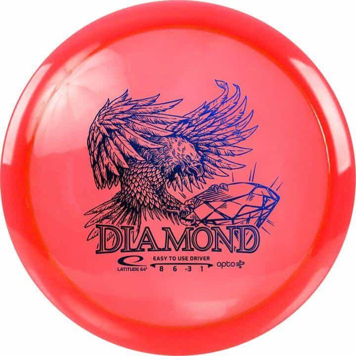 disku golfa disks Latitude 64 Opto Line Diamond red