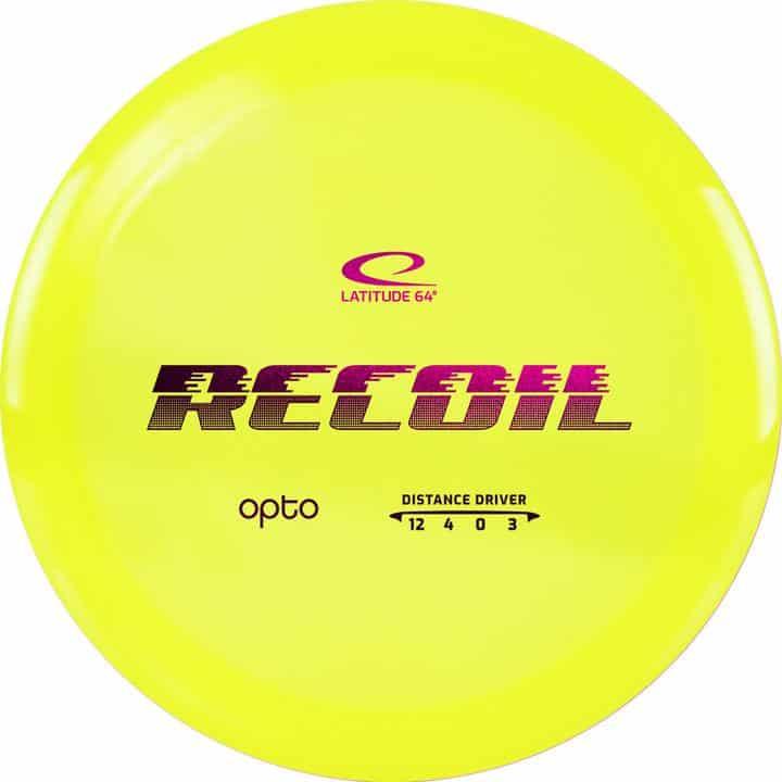 disku golfa disks Latitude 64 Opto Line Recoil yellow