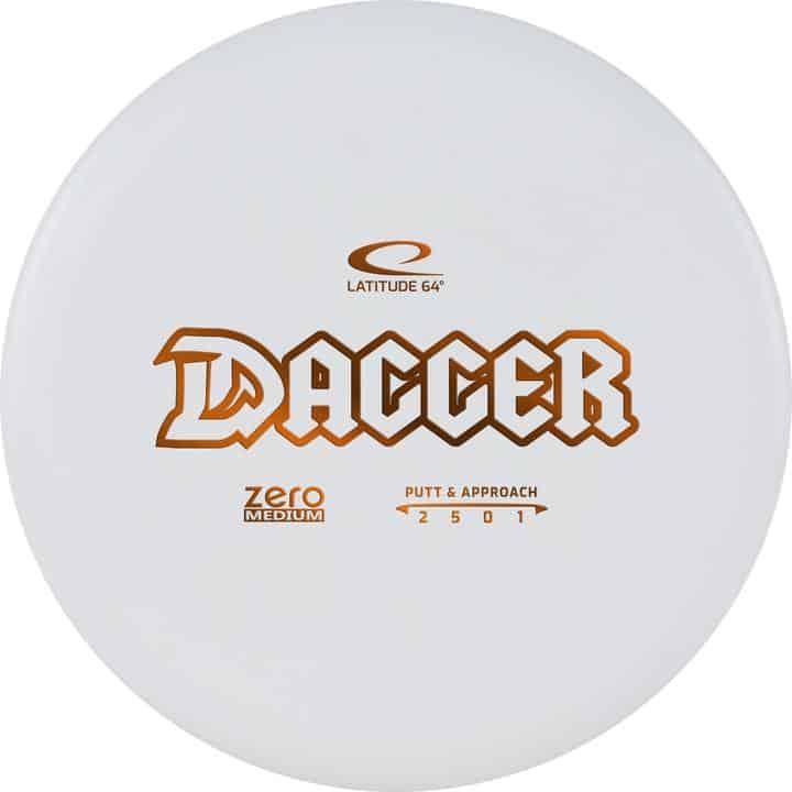 Disku golfa disks Latitude 64 Zero Line Medium Dagger white