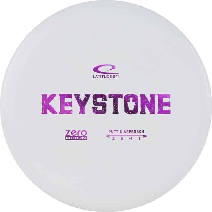 Disku golfa disks Latitude 64 Zero Line Medium Keystone white