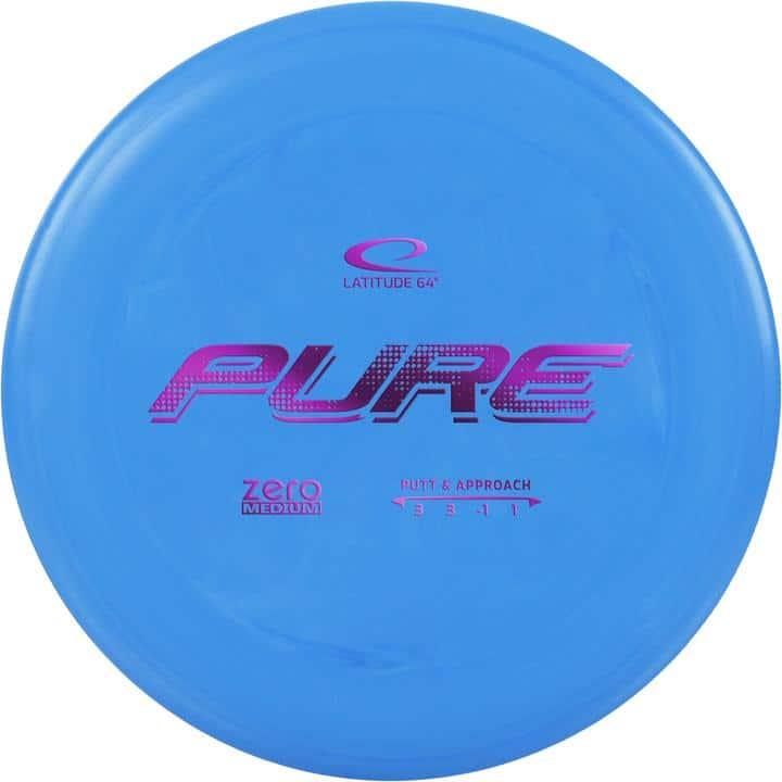 Disku golfa disks Latitude 64 Zero Line Medium Pure blue